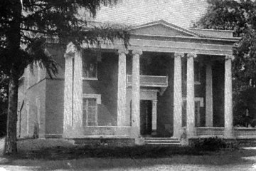 The Wright House circa 1890s.