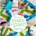 Piping Tutorial + Bee Happy Pillow