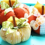 Plush Patchwork Pumpkin Tutorial