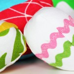 Fabric Easter Eggs (Free Pattern!)