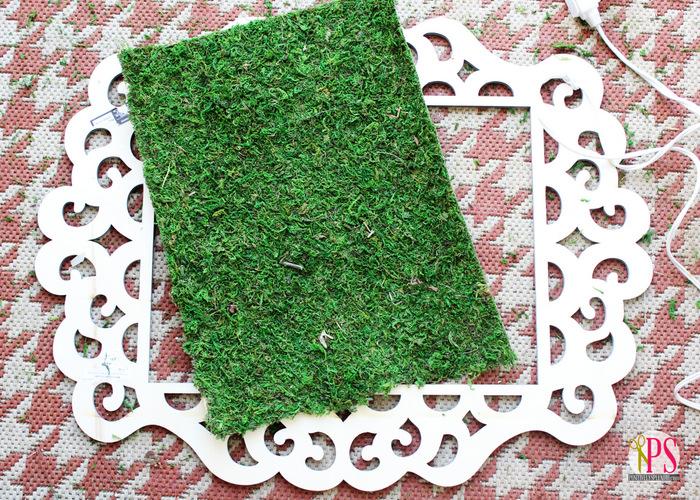Framed Moss Outdoor Wall Art :: PositivelySplendid.com