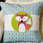 Fox Appliqué Design (Free Templates!)