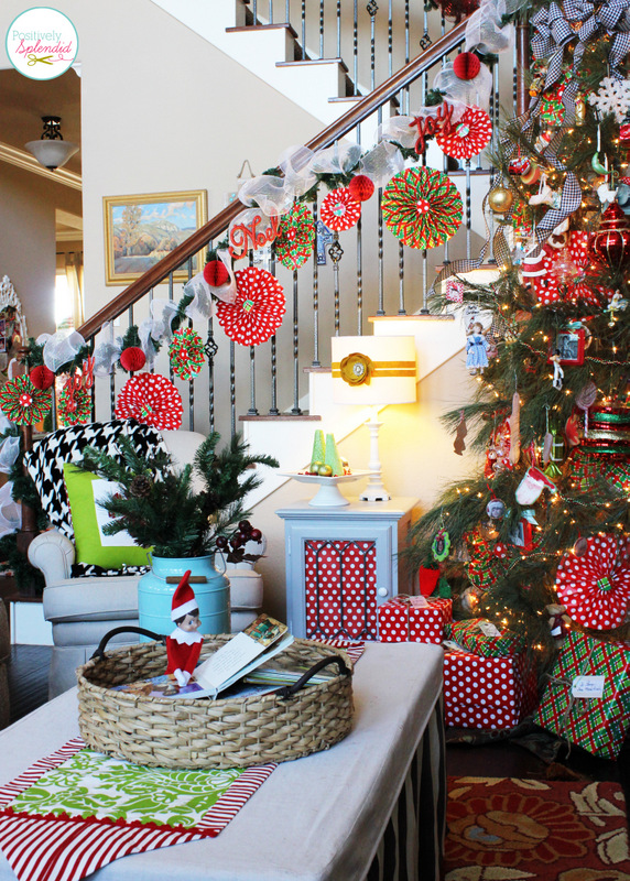 Positively Splendid Holiday Home Tour
