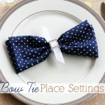 Bow Tie Place Settings