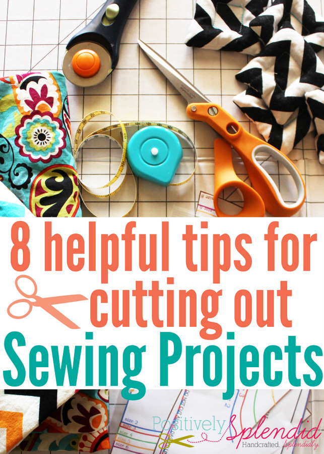 8 Helpful Tips for Cutting Out Sewing Projects. Great information!