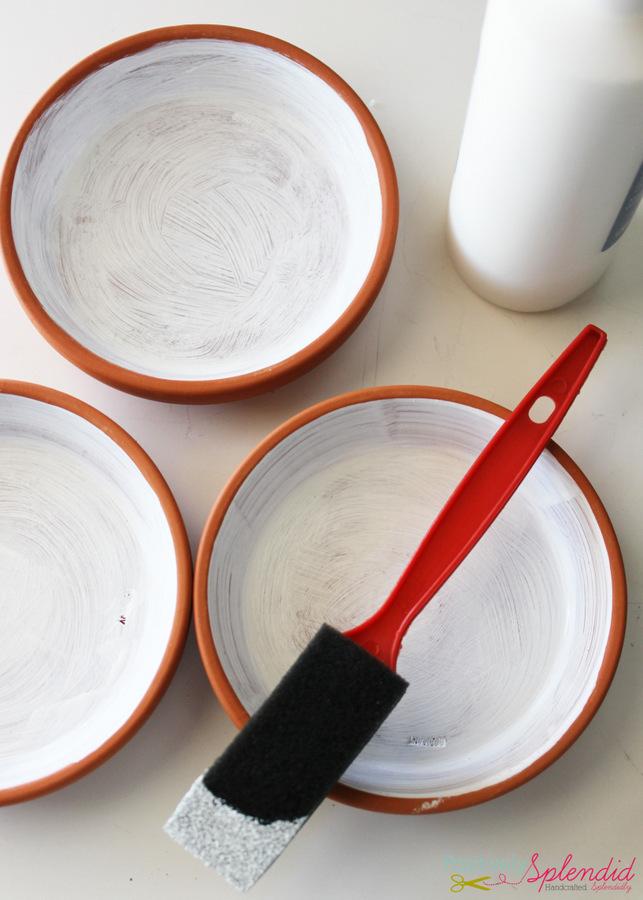 Polka dot trinket dishes by Positively Splendid