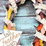 Fall Feather Wreath