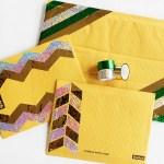 DIY Embellished Mailing Envelopes #MakeAmazing