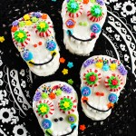 Day of the Dead Sugar Skull Rice Krispies® Treats #RiceKrispies