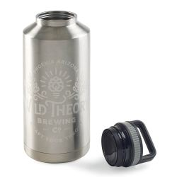 Small Crop Of Stainless Steel Growler