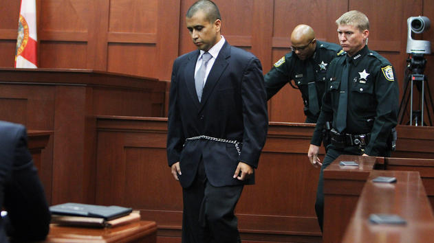 George Zimmerman in April 2012.