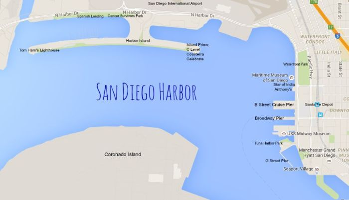 Do the San Diego Harbor