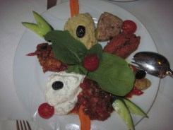Turkish mezzes, appetizers - fabulous!