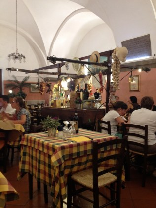 Enjoy eating where the locals dine