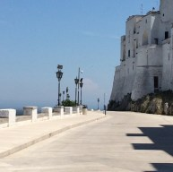 Visit the medieval fortress and ramparts of Ostuni, the white city.
