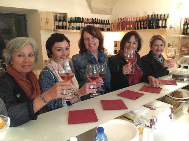 Winetasting in Lecce, Puglia!