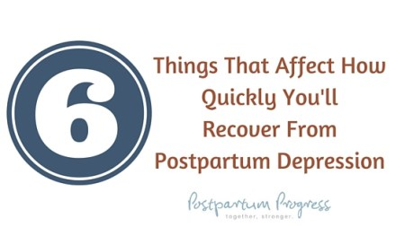 how long does postpartum depression last