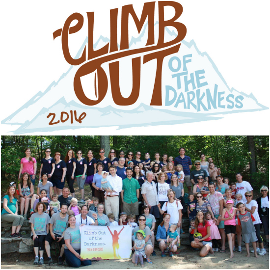 It's Time to Register for Climb Out of the Darkness -postpartumprogress.com