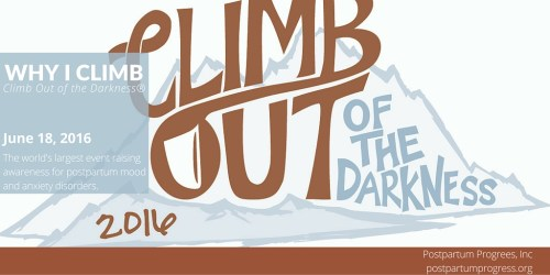 Climb Out of the Darkness: Why I Climb