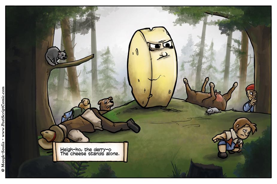 Heigh-ho, the derry-o