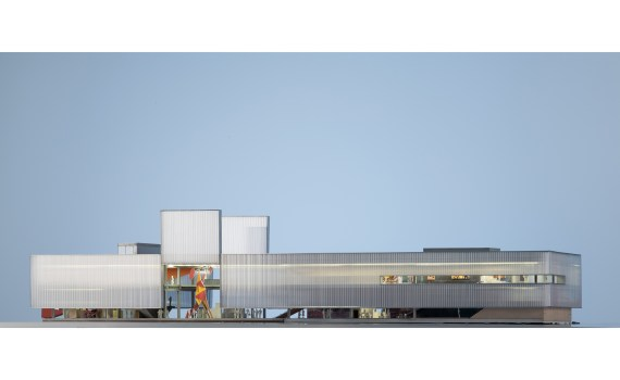 Image of new Garage Museum of Contemporary Art in Moscow.