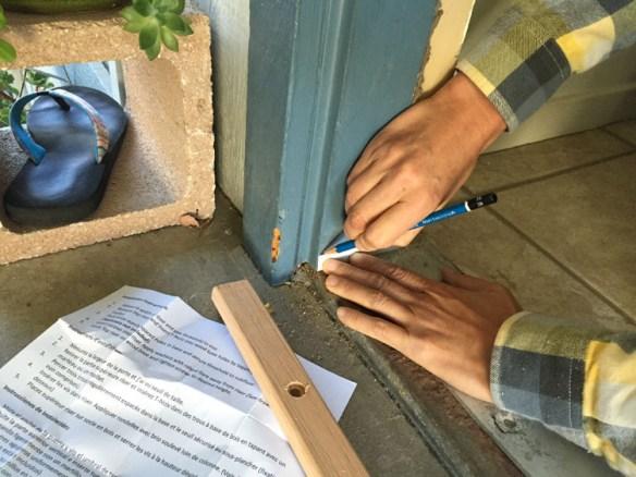 Cutting Door Trim 1