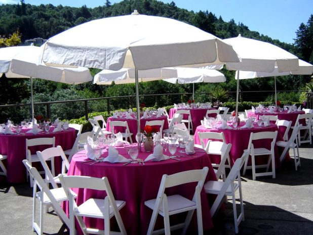 Wedding_Persimmon How to decorate your outdoor wedding