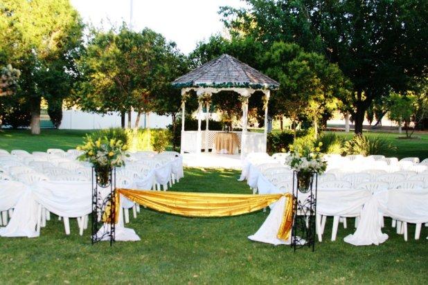 garden How to decorate your outdoor wedding