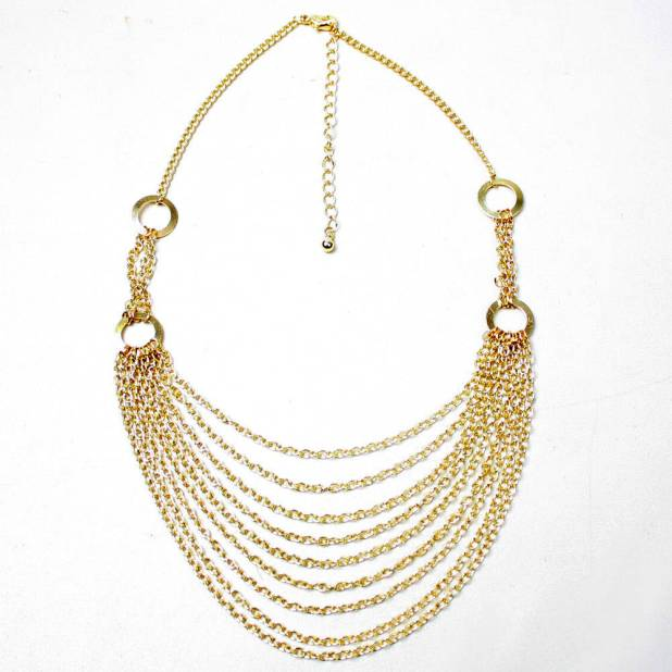 Zyx-Saj-N681-Gold-Necklaces-Discount-Designer 2013 Top Jewelry Trends