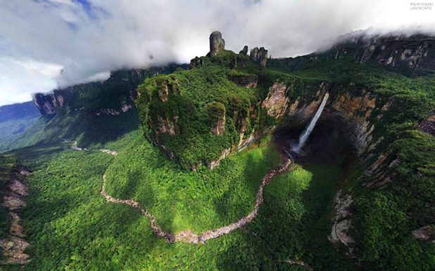 breathtaking-landscapes-04-angel-fall-dragon-falls-venezuela-2 Top 10 Places to Visit Next Year!