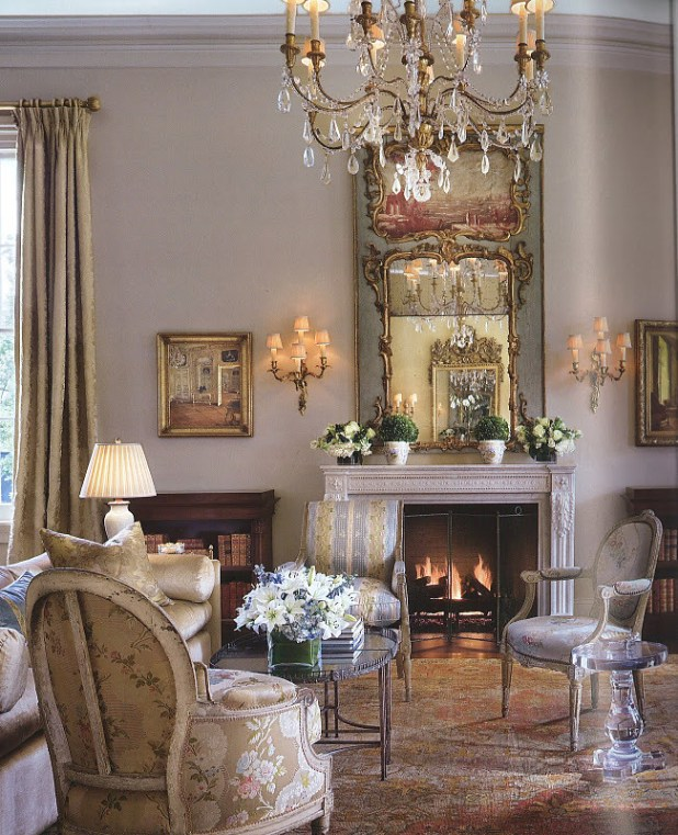 Lovely-Salon-Decorating-Ideas-Living-Room Stunning And Contemporary Victorian Decorating Ideas