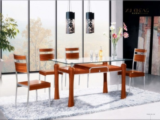Wood-and-Metal-Dining-Table-Chair Discover the Furniture Trends for 2014
