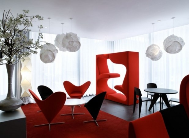red-dining-room-moderndesign Discover the Furniture Trends for 2014