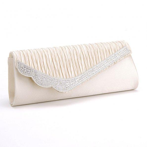 Rhinestone-Satin-Pleated-Women-Bridal-Patry-Evening-Bag17_595 50 Fabulous & Elegant Evening Handbags and Purses