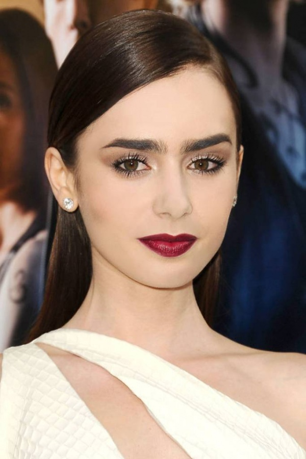 hbz-beauty-lipstick-01-lily-collins-sm What Are the Latest Beauty Trends for 2014?