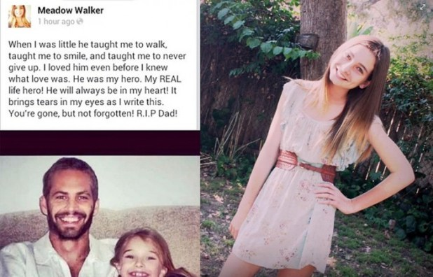 meadow_walker_paul_walker_daughter_facebook_update_remembering_dad_popstoptv Paul Walker's Brother,Cody Walker , Will Complete His Role in Fast & Furious 7, Do You Like Him?