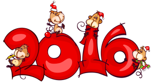 2016 Merry Christmas & Happy New Year Greeting Cards