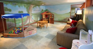 +25 Marvelous Kids' Rooms Ceiling Designs Ideas