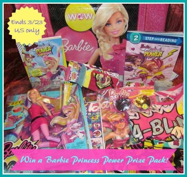 Barbie Power Princess button