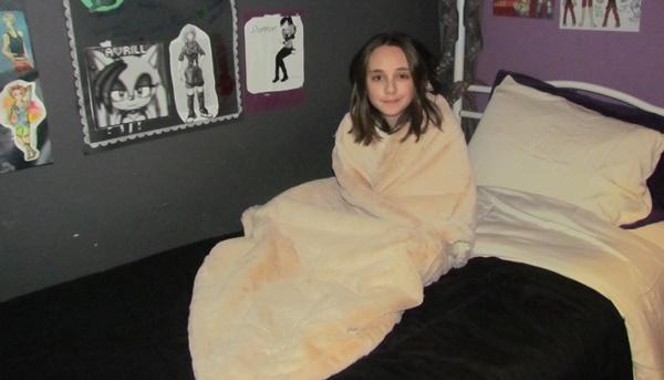 blanket snuggle