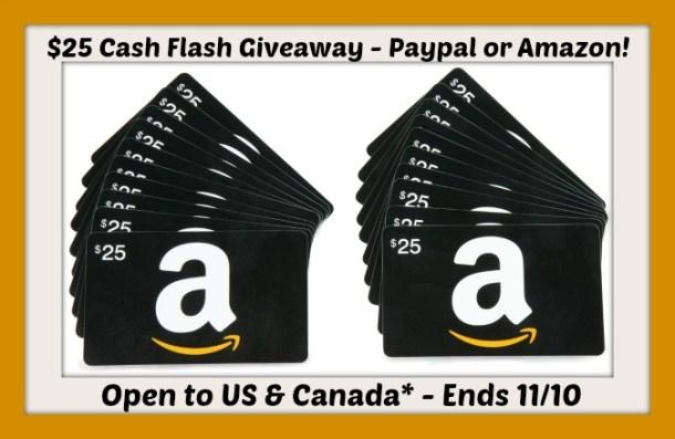 25 cash flash november
