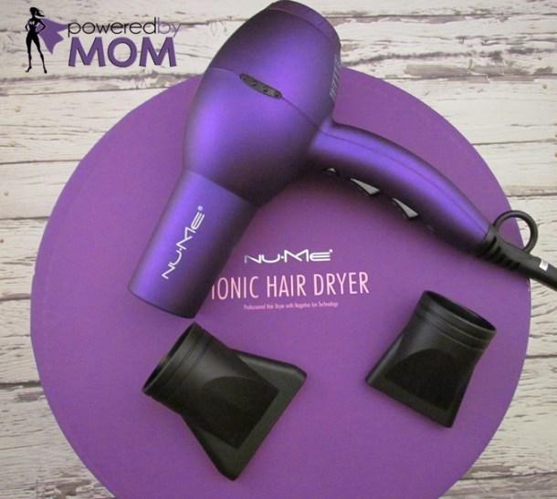NuME hair dryer purple