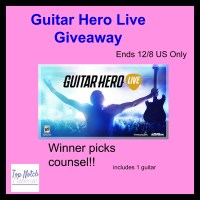 Guitar Hero Live Starter Kit Giveaway