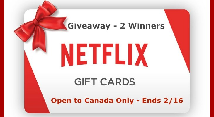 Netflix Gift Cards Giveaway