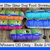Five Star Raw Dog Food Giveaway