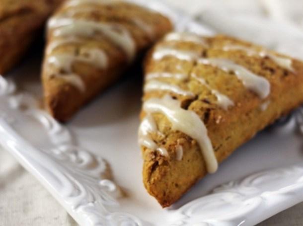 pumpkin spice scones