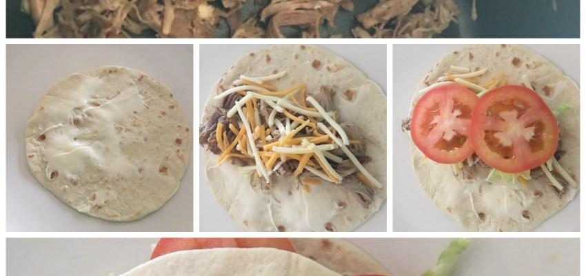 Pork Tortilla Rollups Recipe