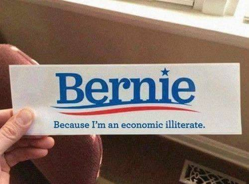 Bernie Illuterate