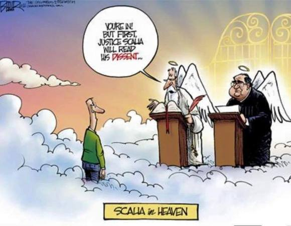 Scalia in Heaven