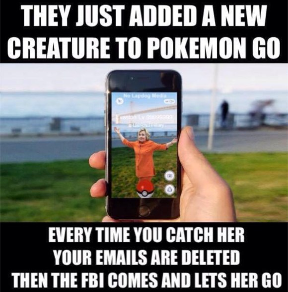 Hillary Pokemon copy